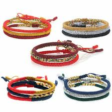 Wholesale <b>Red Hand Woven Hand</b> Line <b>String</b> Cord Bracelet ...