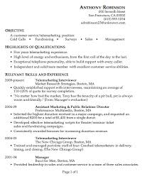 resume examples telemarketer resume sample telemarketer resume   resume examples telemarketer resume sample relevant skills and professional experience as telemarketer interviewer