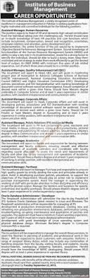institute of business management jobs dawn jobs ads 13 institute of business management jobs dawn jobs ads 13 2015