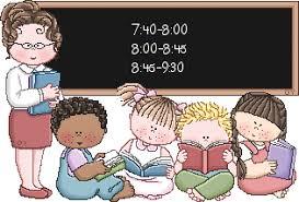 Resultado de imagen de fotos de maestras dando clases