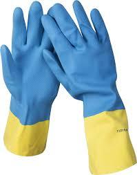 Купить <b>Перчатки латексные с неопреновым</b> покрытием STAYER ...