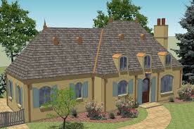 New South Classics  Mon Abri  NEW  Mon Abri French Country House Plan