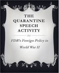 「Quarantine Speech 1934」の画像検索結果
