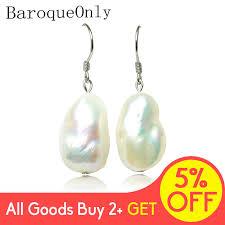 <b>BaroqueOnly 925 sterling silver</b> handmake big baroque pearl ...