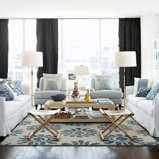 living room white living room and living room tile design ideas also a private homes with blue white living room
