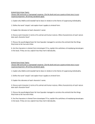 animal farm   chapter questionsanimal farm essay topics  choose one and write a  paragraph