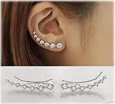 Ear Cuff - Earrings / Women: Jewellery - Amazon.co.uk