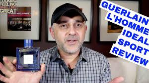 <b>Guerlain L'Homme Ideal Sport</b> Review - YouTube