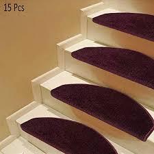 LTLJTT Stair Treads Carpet 15 PCS, Bullnose Step ... - Amazon.com