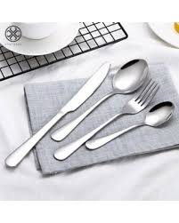New Savings on Luxtrada <b>4Pcs</b> Flatware Rainbow Dinnerware ...