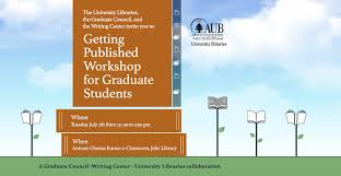 American University of Beirut   News   Prospective graduate         presentation by the Graduate Council representatives and various professorial speakers specialized in the diverse areas of graduate studies at AUB