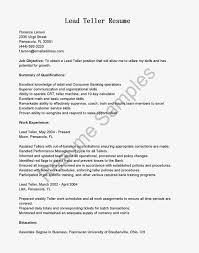 banking resume examples and banking resume sample  seangarrette coresume best banking resume example for bank lead teller position   banking resume examples
