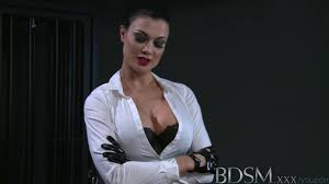 bdsm tits BDSM XXX Horny sub with massive tits lets Mistress into her darkest secrets before the filth