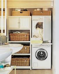 Shelves Baskets Home Office Laundry Room Designs For Small Spaces Table Bright Colors Pallet Contemporary