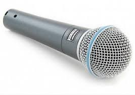 <b>Микрофон Shure beta</b> 58a – аренда. Цена 500 рублей.