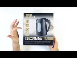 <b>Электрический чайник National</b> NK-KE20112 - YouTube