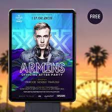 electronic dance music flyer template design resources electronic dance music flyer template