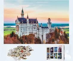 <b>MOMEMO Neuschwanstein Castle Puzzle</b> 1000 Pieces Landscape ...