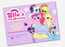 pony party invitations net my little pony birthday party invitations a scart party invitations