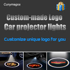 <b>1pcs</b> Wireless <b>Car</b> Door Welcome Light LED Logo Projector ...