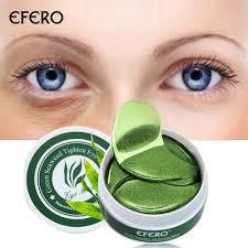 60 pcs Green Seaweed Collagen Eye Gel Patches Mask <b>Anti</b> ...