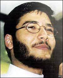 Ahmed Omar Abu Ali. Prosecutors said Abu Ali was recruited in Saudi Arabia - _40855773_abuali_story_ap