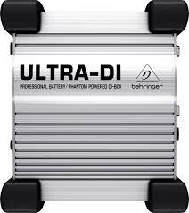 <b>Директ</b>-<b>бокс BEHRINGER ULTRA-DI</b> DI100 - купить в Москве и ...