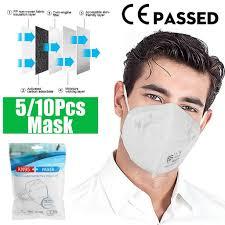 [CE Passed/FFP2/<b>FDA</b> ] 5Pcs/<b>10Pcs KN95</b> Protective Antipolvere ...