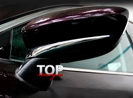 Нижние <b>молдинги боковых</b> зеркал Epic Line на Mazda 6 GJ