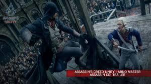 Assassin's Creed <b>Unity</b> : <b>Arno</b> Master Assassin CG Trailer [Europe ...