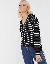 Women's <b>Striped</b> Tops & <b>Long Sleeve</b> Tops   ASOS