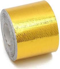 Hitommy <b>5cmx10m</b> Heat Cool <b>Reflective Tape</b> 500 Degree Gold ...