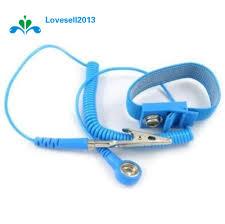 Cordless Wireless Clip <b>Antistatic Anti Static ESD Wristband Wrist</b> ...