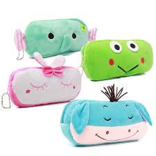 Cartoon Soft Plush Pencil Pen Case,Cosmetic Zipper <b>Storage</b> Bag ...