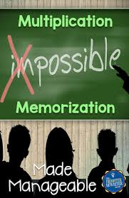 best ideas about memorizing multiplication facts do you struggle helping students memorize their multiplication facts here are some awesome ways