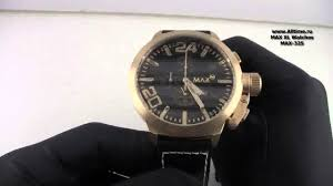 Мужские наручные часы <b>MAX XL Watches</b> MAX-325 - YouTube