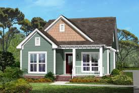 Small House Plans   Houseplans comCottage style Plan   front elevation