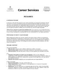 college resume objective com college resume objective to inspire you how to create a good resume 2