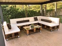 diy pallet patio furniture. diy pallet patio sofa set poolside furniture diy g