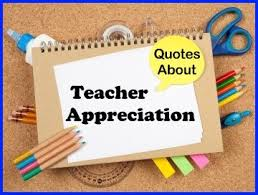 60+ Teacher Appreciation Quotes: Download free posters and ... via Relatably.com