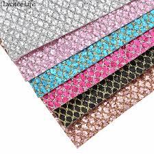 <b>Lychee Life A4</b> Glitter Felt Fabric 30x21cm Colorful Glitter Fabric DIY ...