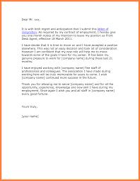 template letters of resignation  seangarrette coresignation letter template  month notice    template letters of resignation