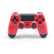 playstation 4 accessories ps4 accessories controllers headsets sony dualshock 4 wireless controller magma red ps4