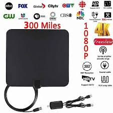2018 NEW HDTV ANTENNA BEST 300 <b>MILES</b> LONG RANGE ...