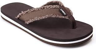 DWG <b>Men's Soft Flip-Flops Sandals</b> Light Weight Shock Proof <b>Slippers</b>