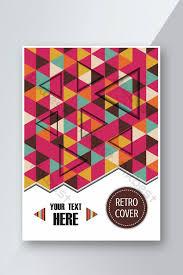 color <b>stripe geometric</b> cover <b>design</b>,A4 size,colorful flyer ...