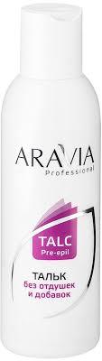 aravia professional тальк 180гр 1029
