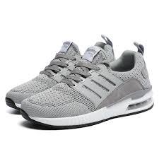 Men <b>Sneakers</b> Air Cushion Outdoor Walking Shoes Mesh ...