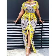 Women <b>Summer</b> Bodycon Long Dress Mesh See Through <b>Party</b> ...