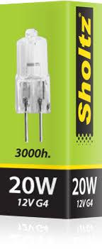 <b>Лампа галогенная SHOLTZ</b> 20Вт JC/G4.0 12В - купить в Кириши ...
